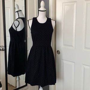J.Crew polka-dot Ponte dress